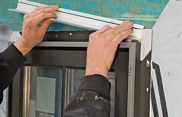 How to Install J Channel Under Existing Siding?