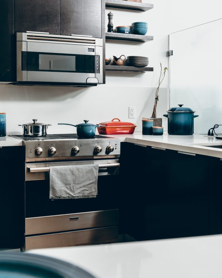 How to Install Over the Range Microwave Without a Cabinet?