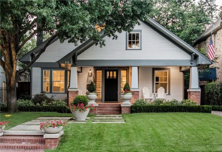 Craftsman Bungalow House: A Classic Combo of Arts And Crafts