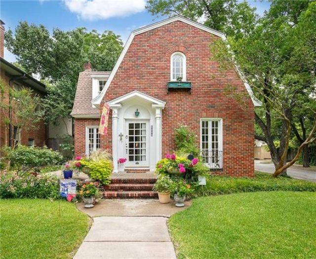 Feast Your Eyes on This Charming 1925 Dutch Colonial in Swiss Avenue  District